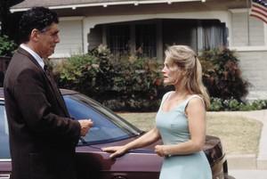 Elliott Gould as Murray and Beverly D'Angelo as Doris Vinyard