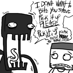 Enderbro calm down...
