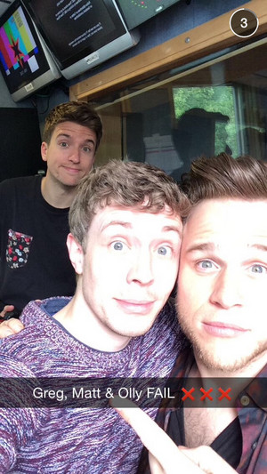 Greg, Matt and Olly