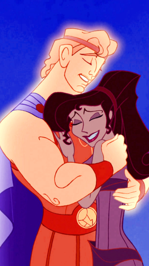 Hercules and Meg phone wolpeyper