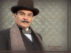 It is no mystery to Poirot
