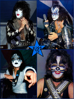 ciuman ~Valencia, California…May 19, 1978 (KISS Meets The Phantom of the Park press conference)