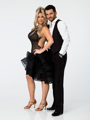 Kim Zolciak Biermann & Tony Dovolani