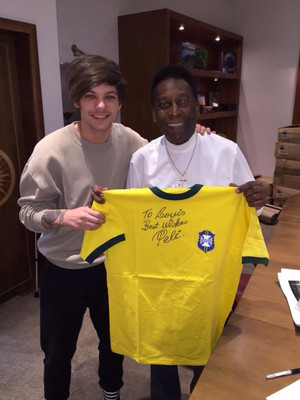 Louis and Pele