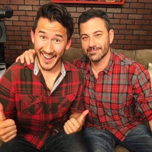 Mark Fischbach and Jimmy Kimmel