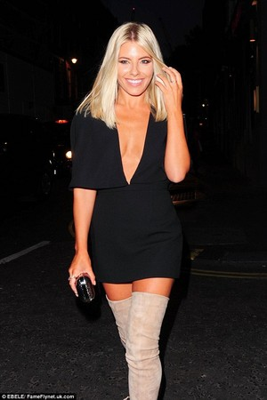 Mollie leaving Notion magazine cover party