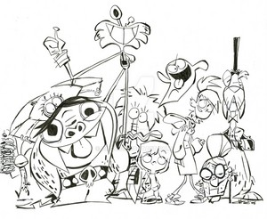 Original Art from Craig McCracken