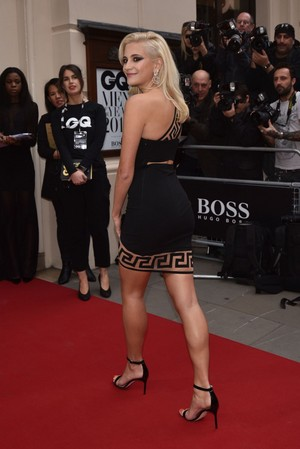 Pixie at the GQ Men of the jaar Awards