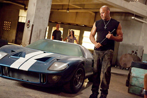 Vin Diesel as Dom Toretto in Fast Five