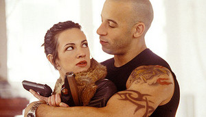 Vin Diesel as Xander Cage in xXx