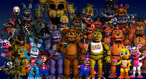 "fnafworld Scott made another update on ""fnaf world"""