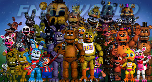 fnafworld (;v; ) Scott updated again.