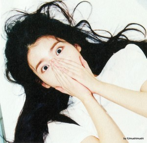 [SCANS] IU(アイユー) CHAT-SHIRE (by IUmushimushi)
