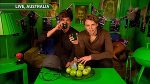 Cashton at Celebrity Juice
