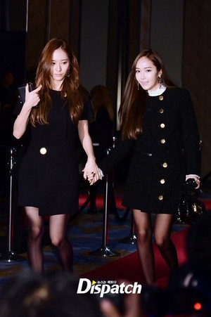 "Jessica Jung and Krystal at ""W Korea"" charity event"