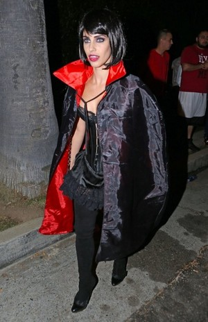 Jessica at Casamigos halloween Party