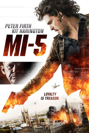 Kit Harington in MI-5 official poster