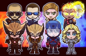 Legends of Tomorrow Superheroes