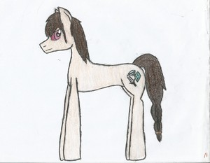 My elf guy as a pony...