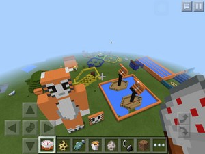 My replica of stampy's lovely world