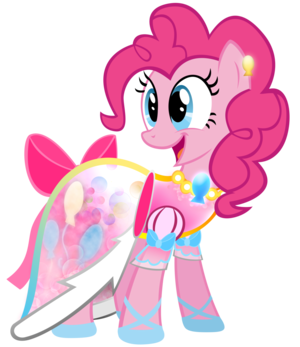 Pinkie Pie in a Dress