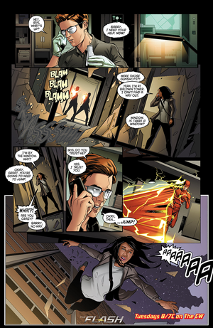 The Flash - Episode 2.03 - Family of Rogues - Comic prévisualiser