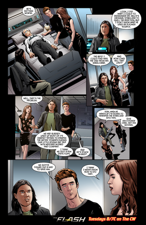 The Flash - Episode 2.04 - The Fury of Firestorm - Comic Preview
