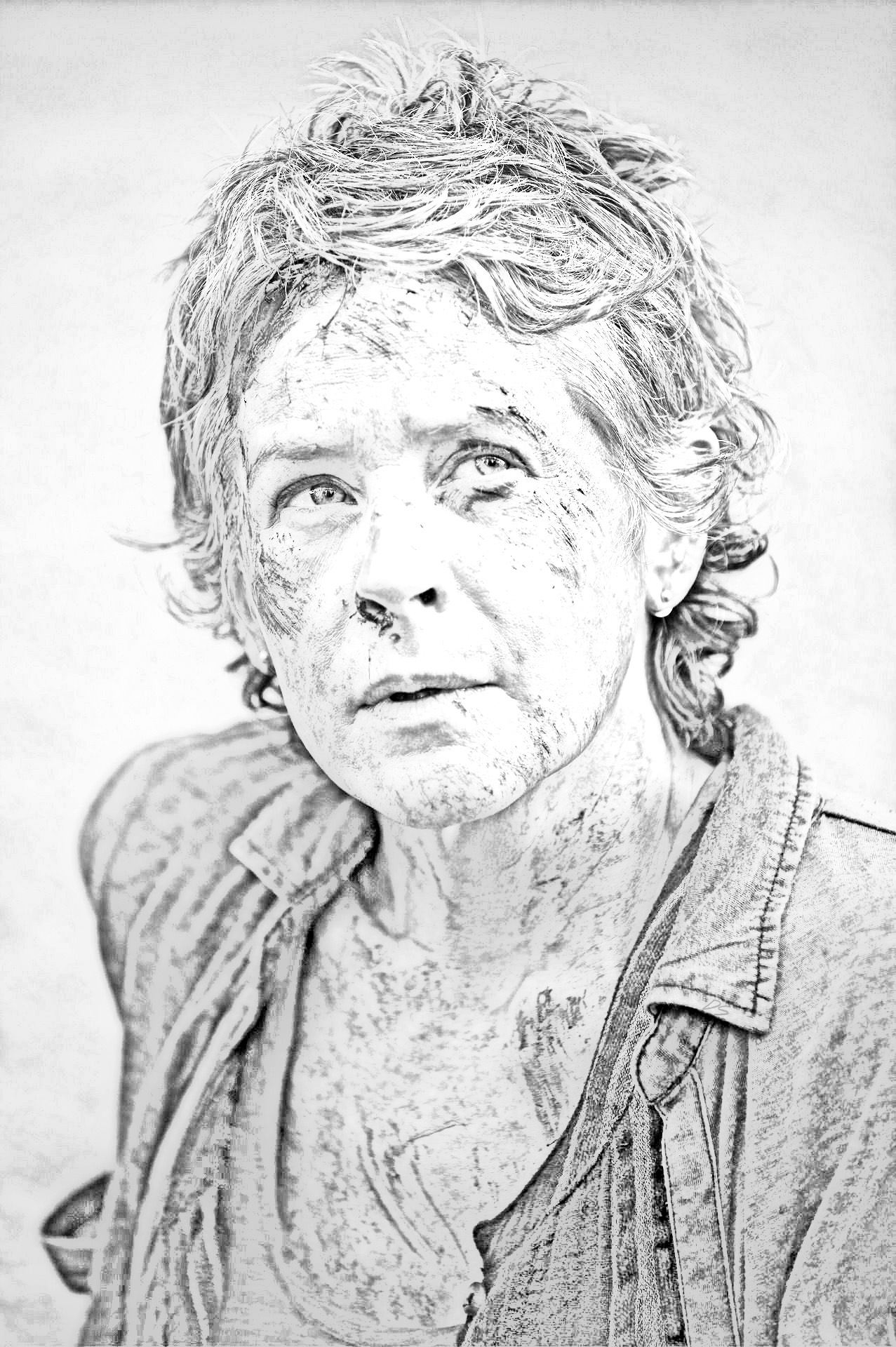 The Walking Dead Coloring Pages Carol The Walking Dead Fan