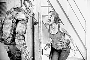 The Walking Dead - Coloring Pages - Maggie
