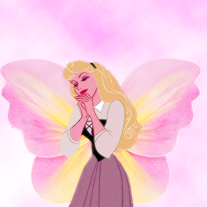 aurora as a butterfly