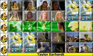taylor-yellow wild force ranger