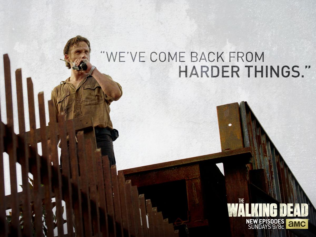 Rick Grimes The Walking Dead Wallpaper 39069557 Fanpop