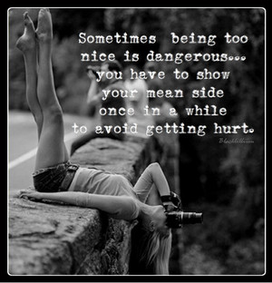 Being too nice is Dangerous...