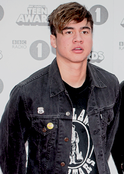 Calum at BBC Radio 1 Teen Awards