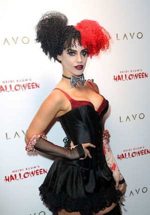 Jessica at Heidi Klum Halloween Party