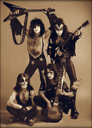 kiss ~Amsterdam, Holland...May 23, 1976
