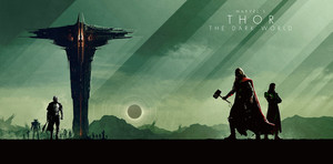 Marvel Phase 2 Collection Art - Thor: The Dark World