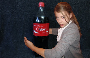 Share a Coke with Chloe chloe moretz