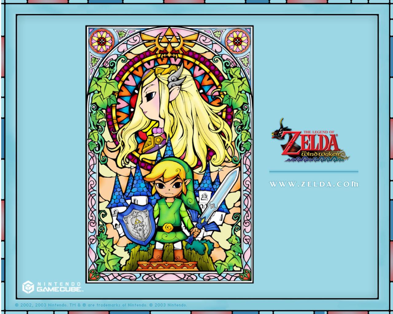 Stained Glass Wallpaper The Legend Of Zelda Wallpaper 39052510