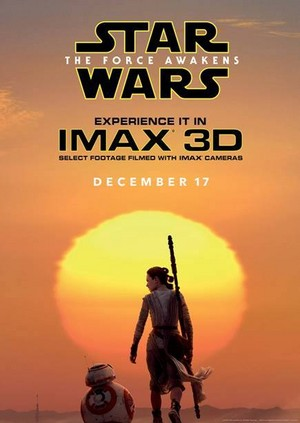 ster Wars: The Force Awakens - IMAX Exclusive Poster