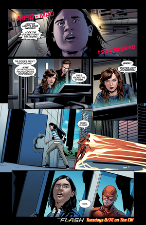 The Flash - Episode 2.06 - Enter Zoom - Comic Preview
