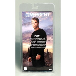 divergent 7 inch 17cm action figure set of 2 3