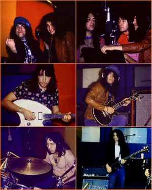 KISS ~Bell Studios 1973 (recording their first album)