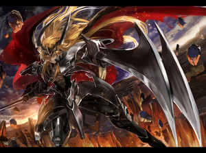 Blond Lion Ezel wallapaper