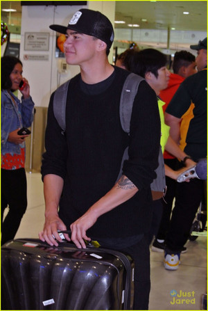 Calum at Sidney Airport