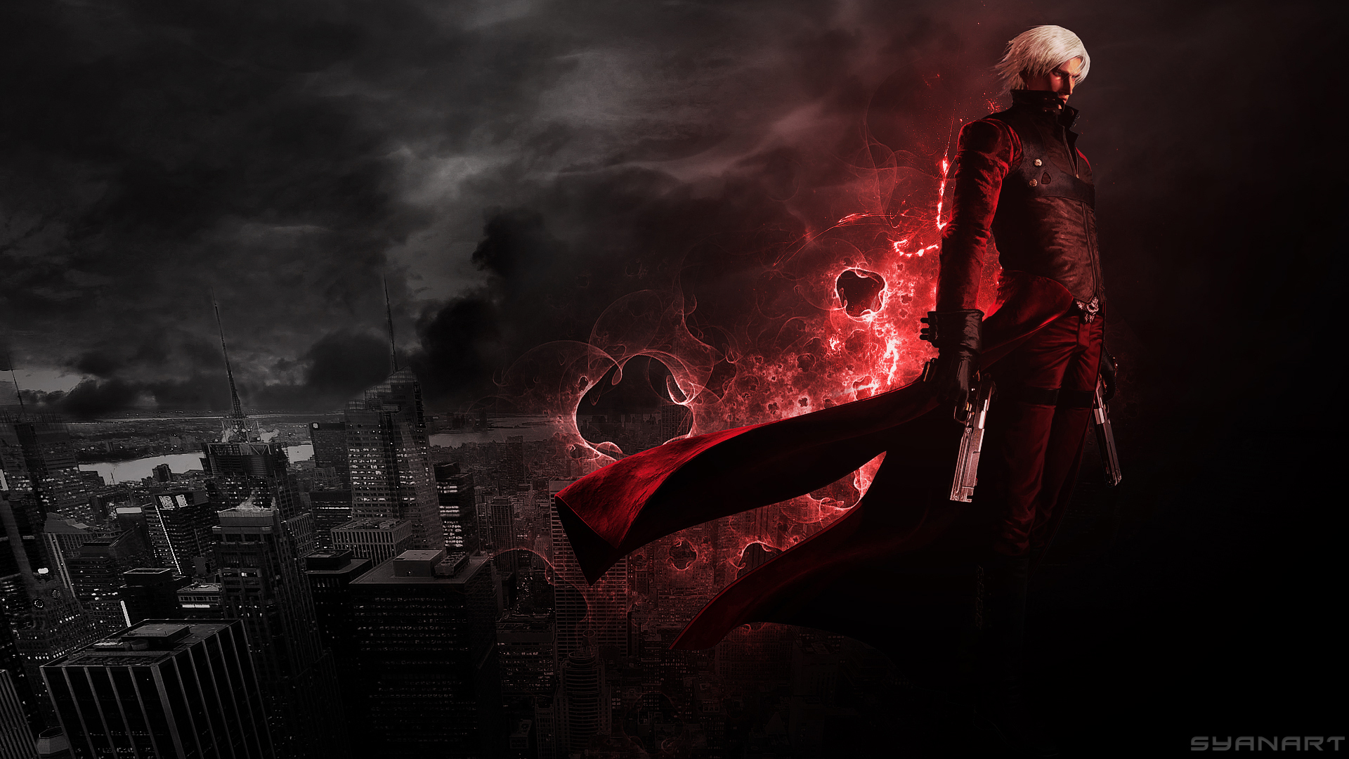 Devil May Cry 2 Dante Devil May Cry 2 Wallpaper 39186920 Fanpop