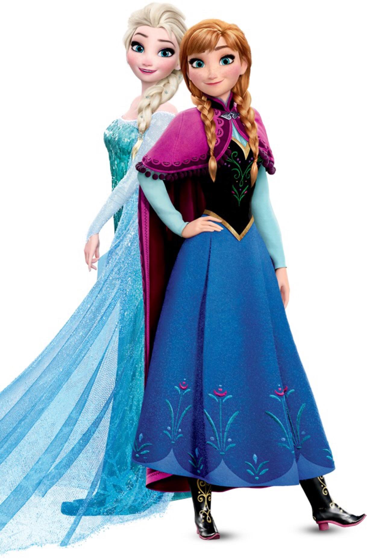 Elsa And Anna Elsa E Ana Fotografia 39135166 Fanpop