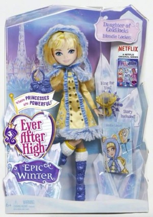Ever After High Epic Winter Blondie Locks anak patung
