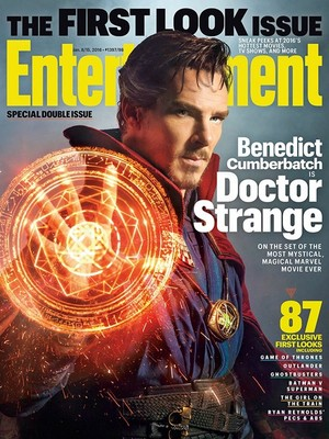 First look as Doctor Strange - EW cover