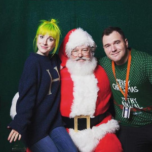 Hayley at the Home Alone - Movie Guys Event
